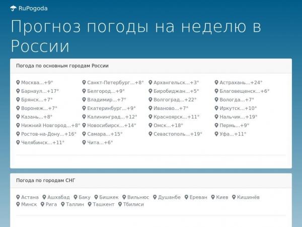 rupogoda.ru